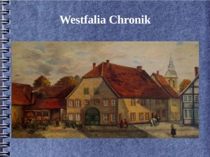 westfalia chronik bild